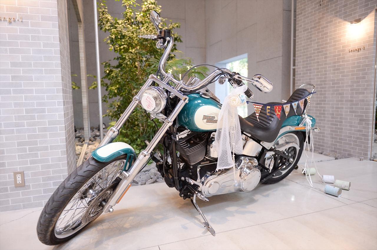 趣味の車やバイクをぜひ結婚式に♪ | オリゾンブルー | スタッフブログ